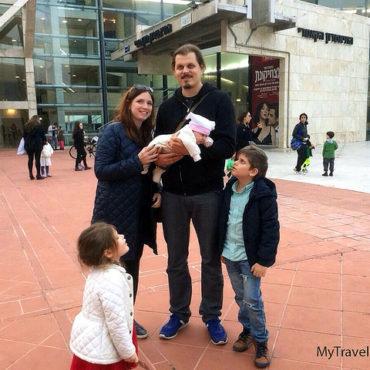Волшебная Шанти. Рождение ребенка в Израиле